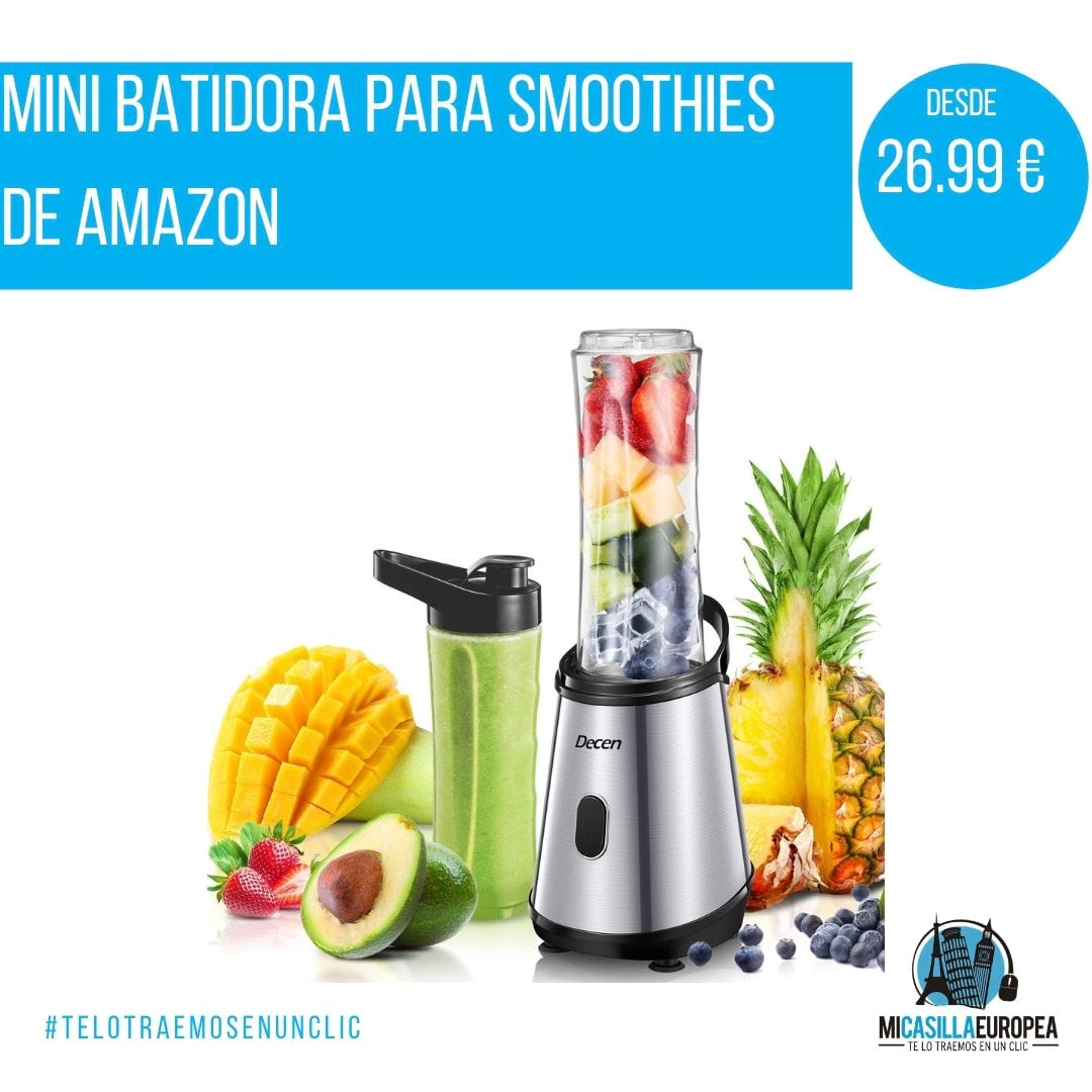 Decen Mini Batidora para Smoothies